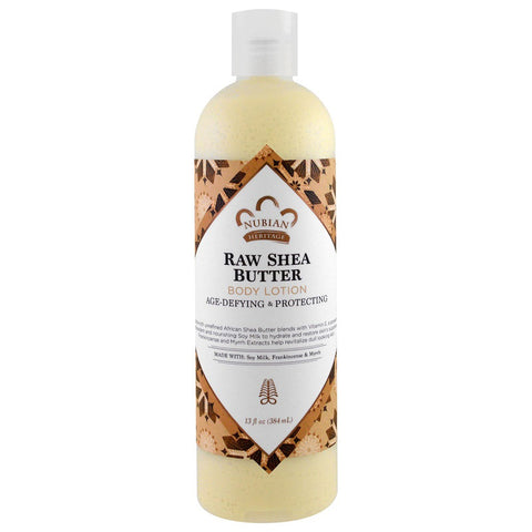 NUBIAN HERITAGE - Raw Shea Butter Body Lotion