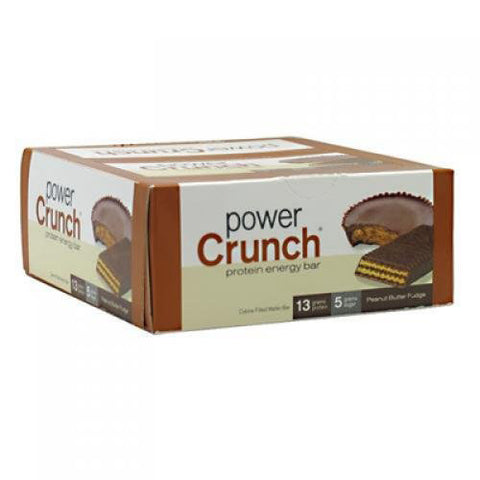 Power Crunch - Protein Energy Bar Peanut Butter Fudge - 12 x 1.4 oz. Cookies