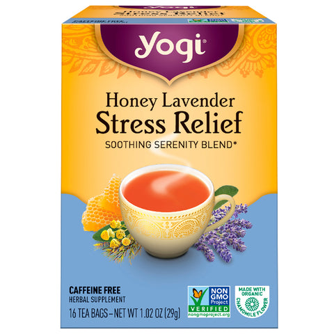 YOGI TEA - Honey Lavender Stress Relief Tea