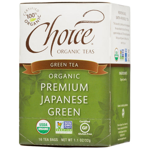 CHOICE - Green Tea Organic Premium Japanese Green