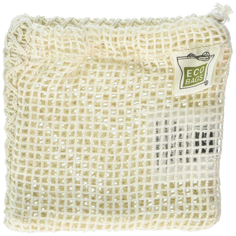 ECO-BAGS - Natural Cotton Soap Bag