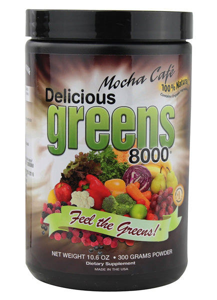 Greens World Delicious Greens 8000 Mocha Cafe