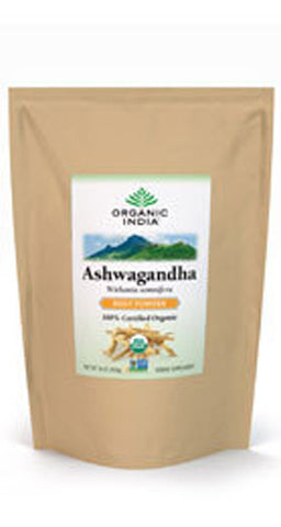 ORGANIC INDIA - Bulk Herb Ashwaghandha Root Powder