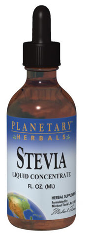 PLANETARY HERBALS - Stevia Liquid Concentrate Dark