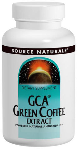 SOURCE NATURALS - GCA Green Coffee Extract - 30 Tablets