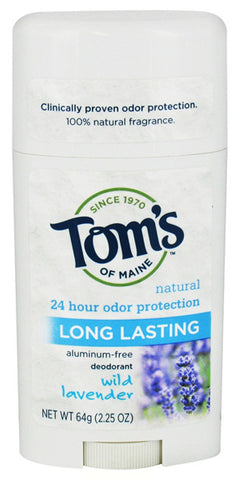TOM'S OF MAINE - Deodorant Stick Long Lasting Lavender