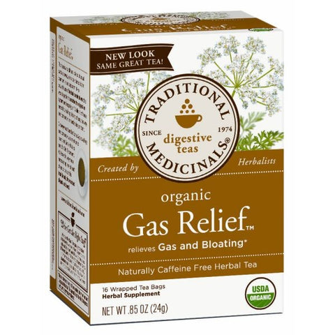 TRADITIONAL MEDICINALS TEAS - Gas Relief Tea