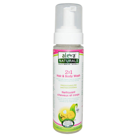 Aleva - Baby 2 in 1 Hair & Body Wash - 6.75 fl. oz. (200 ml)