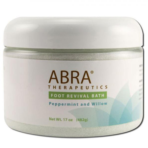 ABRA THERAPEUTICS - Foot Revival Bath Peppermint and Willow