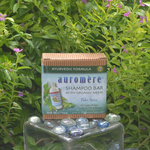 AUROMERE - Neem Plus 5 Herb Shampoo In a Bar