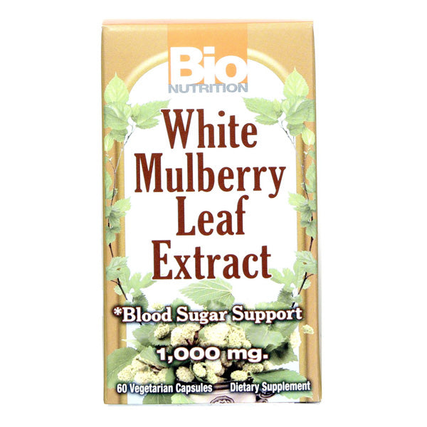 BIO NUTRITION - White Mulberry Leaf Extract