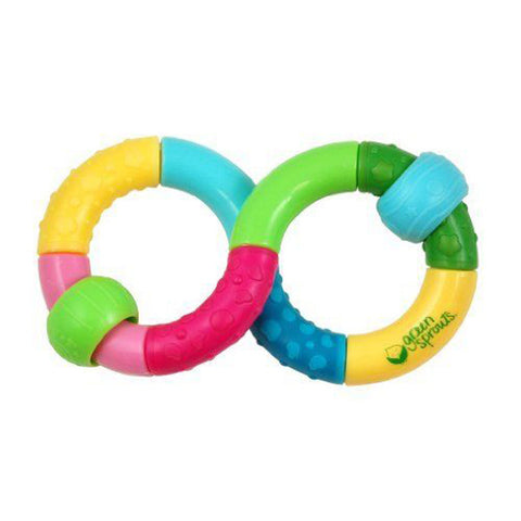 GREEN SPROUTS - Infinity Teether Rattle