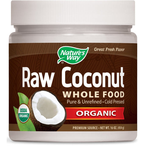 NATURES WAY - Raw Coconut Whole Food Organic
