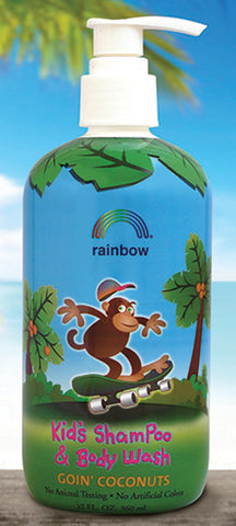 RAINBOW RESEARCH - Kids Shampoo Body Wash Goin Coconuts