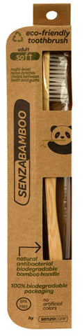 SENZACARE - Bamboo Toothbrush Soft Adult