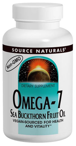 SOURCE NATURALS - Omega-7 Sea Buckthorn Fruit Oil