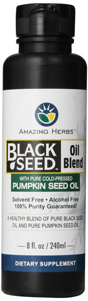 AMAZING HERBS - Black Seed & Pumpkin Seed Oil