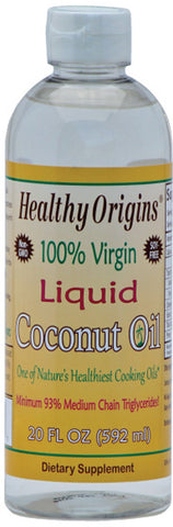 HEALTHY ORIGINS - 100% Virgin Liquid Coconut Oil