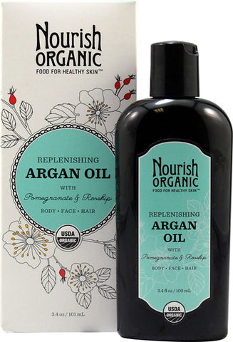 NOURISH - Organic Replenishing Multi Purpose Argan Oil
