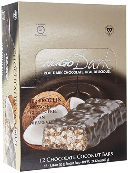 NUGO NUTRITION - NuGO Dark Bar Chocolate Coconut