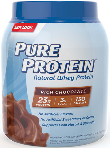 PURE PROTEIN - Natural Whey Protein Rich Chocolate