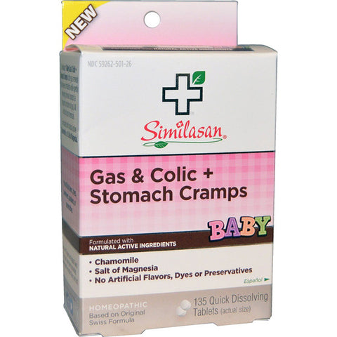 SIMILASAN - Baby Gas and Colic Plus Stomach Cramps