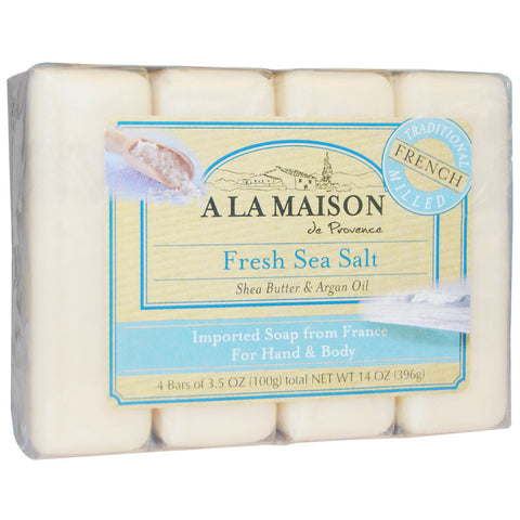 A LA MAISON - Fresh Sea Salt Bar Soap Value Pack