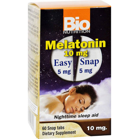 BIO NUTRITION - Melatonin 10 Mg