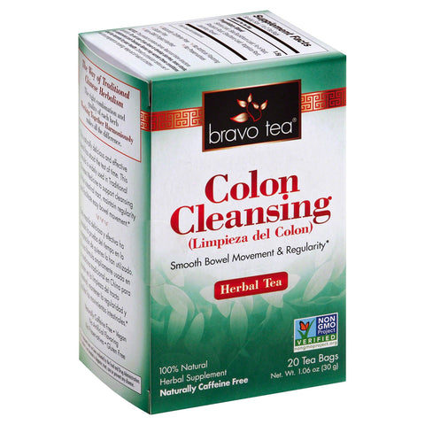 BRAVO TEAS - Colon Cleansing Herbal Tea