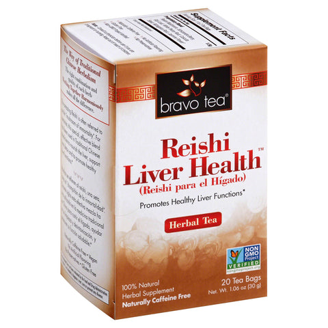 BRAVO TEAS - Reishi Liver Health Herbal Tea