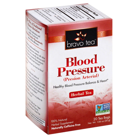 BRAVO TEAS - Blood Pressure Herbal Tea