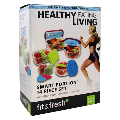 FIT & FRESH - Healthy Living Container Set Multicolor