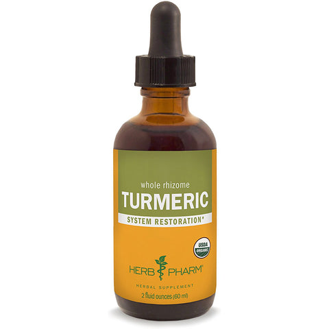 HERB PHARM - Turmeric Root Extract for Musculoskeletal System Support