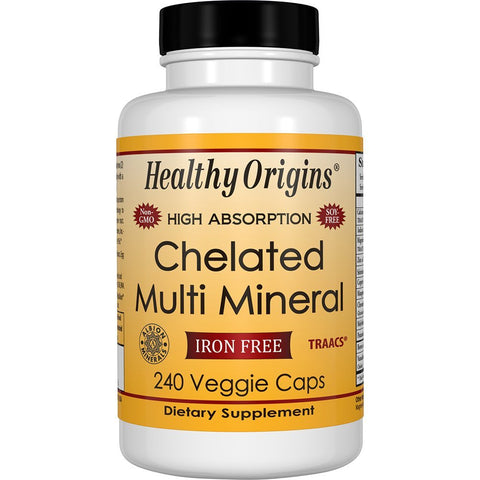 HEALTHY ORIGINS - Chelated Multi Mineral, Iron Free