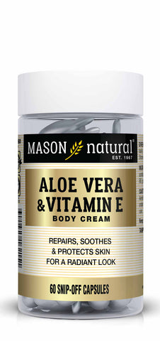 MASON - Aloe Vera & Vitamin E Hydration Skin Therapy Snipp-off
