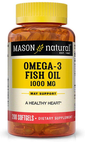 MASON - Omega-3 Fish Oil 1000 mg