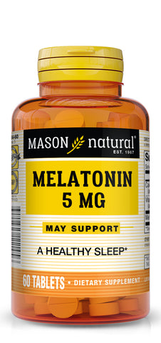 MASON - Extra Strength Melatonin 5 Mg with Vitamin B-6