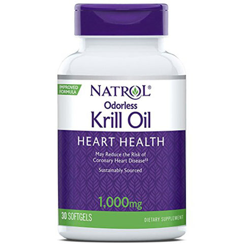 NATROL - Odorless Krill Oil 1,000 mg