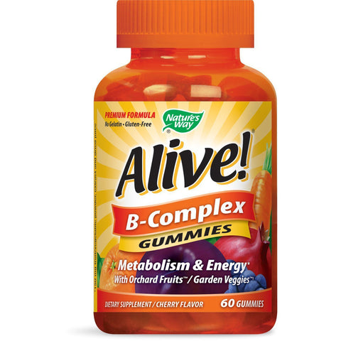 NATURE'S WAY - Alive! B-Complex Premium Gummies