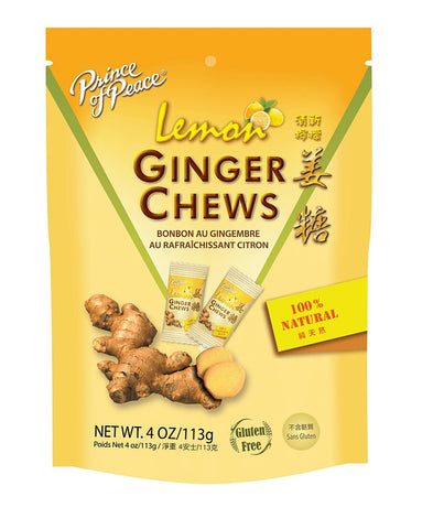 PRINCE OF PEACE - Ginger Chews with Lemon