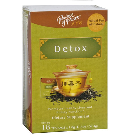 PRINCE OF PEACE - Detox All Natural Herbal Tea