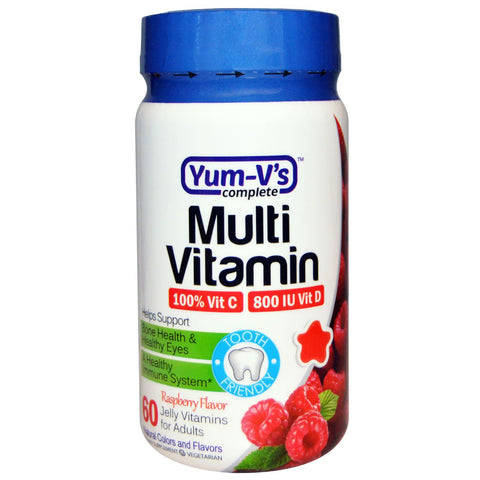 YUM V'S - Multi Vitamin with Iron, Berry Flavor