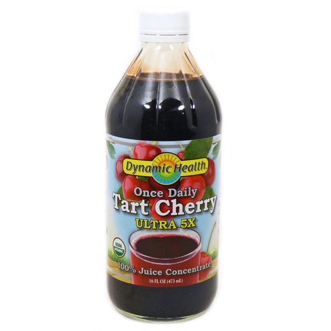 DYNAMIC HEALTH - Once Daily Tart Cherry Ultra 5X Juice Concentrate