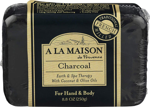 A LA MAISON - Charcoal Earth & Spa Therapy Bar Soap