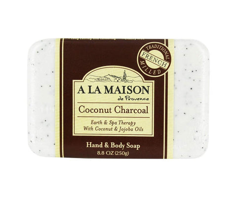 A LA MAISON - Coconut Charcoal Earth & Spa Therapy Bar Soap