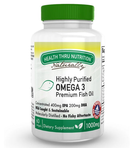 HEALTH THRU NUTRITION - Highly Purified Omega