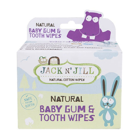 JACK N' JILL - Baby Gum & Tooth Wipes