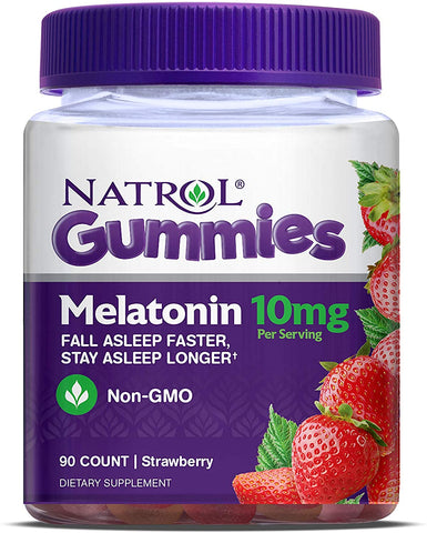 NATROL - Melatonin Gummies 10mg - 90 Count