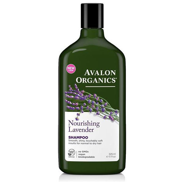 Avalon Organics - Lavender Nourishing Shampoo - 11 fl. oz. (325 ml)