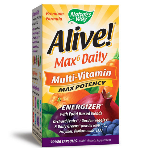 NATURES WAY - Alive Multi-Vitamin with Iron